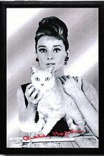 Audrey Hepburn Motiv 4 Nostalgie Barspiegel Spiegel Bar Mirror 22 x 32 cm