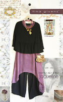 Jaqueline TG-A3131 Sewing Pattern 3 pcs. by Tina Givens- Lagenlook Style!