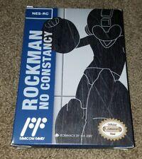 Rockman No Constancy Mega Man Extremely Rare Metallic Blue Cart Nintendo NES