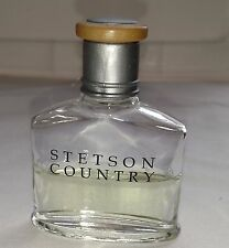 STETSON COUNTRY After Shave Spray Men Afershave Half Full COTY US