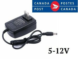 2A-12V 1A-12V 2A-5V AC / DC power supply For Led strip lights or other US plug