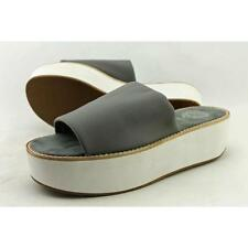 Calzado de mujer gris sintético, talla 39