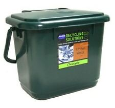 Addis Kitchen Compost Caddy Re-cycling Bin Dark Green Cleaning Tidy Up
