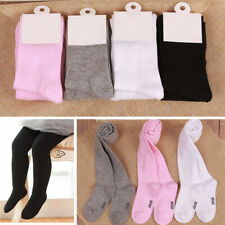Toddler Kids Baby Tights 2 Pairs Socks Knee High Long Soft Warm Pantyhose