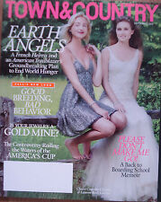 Town & Country USA Magazine - September 2013 - CLAIRE COURTIN & LAUREN BUSH