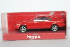 Mercedes Benz CLK Klasse  C208  Herpa  1:87  rot