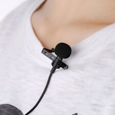 US Clip-on Lapel External Lavalier Microphone for Cell Phone PC Laptop Pad UP