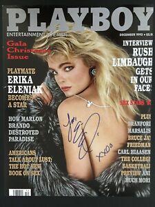 Signed ERIKA ELENIAK 11x14 Photo not PSA Beckett PLAYBOY BAYWATCH Autograph COA