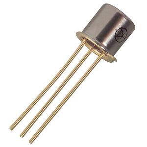 2N4220  JFET Transistor N-channel TO-72 COMPONENTE ORIGINALE