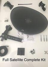 Sky Full Sky HD Satellite MK4 Dish with Quad LNB Complete Kit