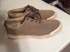ae2173fbaa158 Men Tommy Baham Rum Runner Perforated suede Casual SNEAKERS SIZE 12 Almond