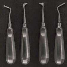 Set of 2 Dental Heidbrink Root Tip Picks Elevators Right Left Dental Instruments
