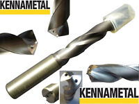 Kennametal 14.8mm High-Performance Solid Carbide drill bit with internal Cooling