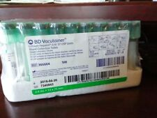 Bd Vacutainer Sodium Heparin 37 Usp Units Blood Collection Tubes 366664