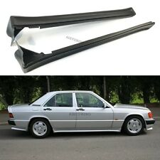 Mercedes Benz W201 190 AMG Style Side Skirts Aprons Trims Addon Set