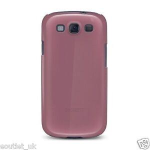 Cygnett Form Slim Glossy Hard Case For Samsung Galaxy S III S3 - Malaga NEW