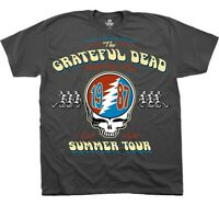 AUTHENTIC GRATEFUL DEAD SUMMER TOUR 1987 ROCK MUSIC MENS TEE SHIRT S M L XL 2XL