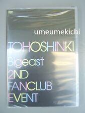 RARE TVXQ DBSK Tohoshinki 2nd Bigeast fanclub event official DVD NEW