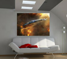 """Mass Effect Huge Art Giant Poster Wall Print 39""""x57"""" px16"""