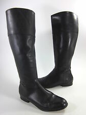 CORSO COMO WOMENS RICHMOND KNEE-HIGH BOOT BLACK BURNISH LEATHER US SZ 9.5 MEDIUM