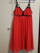 Dotti Red formal party dress size 8