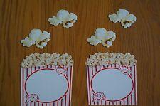 T10073 T10838 Popcorn Movie Theme Cut Outs Bulletin Board Decorations