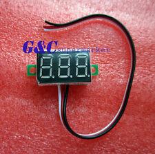 three-wire 0.36` LED DC Digital Voltmeter Panel Meter  0-32V  RED COLOR