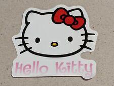 HELLO KITTY VINYL STICKER  LAPTOP LUGGAGE SKATEBOARD