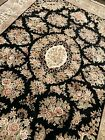 High Quality Handmade Chinese Aubusson Area Rug, Stunning Silk Details, 9x12