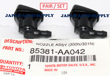 NEW OEM TOYOTA CAMRY Windsheild Washer Sprayer Nozzles (2X) 85381-AA042 PAIR SET