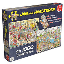Jan Van Haasteren Cardboard 1000 - 1999 Pieces Jigsaw Puzzles