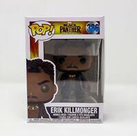 Funko Pop! New Marvel Black Panther Erik Killmonger Vinyl Bobble-Head #386
