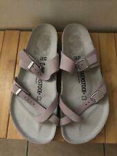 Women's Birkenstock Mayari Lilac Nubuck Sandal Sz 9