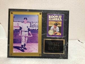 Mickey Mantle Plaque 8 X 10 Collectibles