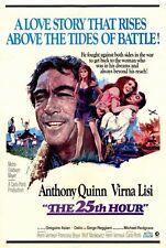 THE 25TH HOUR Movie POSTER 27x40 Anthony Quinn Virna Lisi Gr goire Aslan Michael
