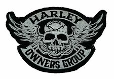 Harley Owners Group - Embroidered Motorcycle/Biker Patch