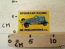 STICKER,DECAL STOCKCAR RACING DE PEELDRIVERS RC RALLYE