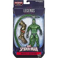 Marvel Legends SCORPION Figure BAF Molten Man Hasbro Spider-Man Venom Carnage