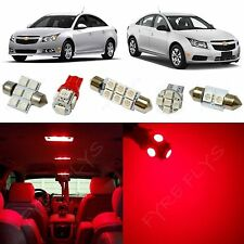 7x Red LED lights interior package kit for 2011-2015 Chevy Cruze CC2R
