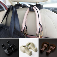 2X Car Accessories Back Seat Hook Purse Bag Hanging Hanger Holder Universal New
