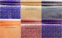 RARE1/2.5/3 YARD TIBET SILK DAMASK JACQUARD BROCADE FABRIC INDIAN SILK FABRIC
