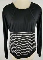 Womens Breastfeeding Top Shirt Long Sleeve  Nursing Top Tinhao Black New