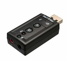 SYBA SD-AUD20101 Plug and Play USB 2.0 External Stereo Sound Adapter with Optica