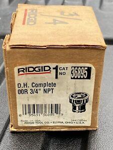 """RIDGID  OOR NPT 3/4""""  Die Head Complete  36895 Made In USA"""