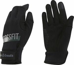 Reebok Crossfit Womens Training Gloves Black FITNESS  CZ9898 Workout Gel Size S