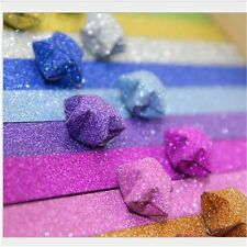 200 Strip mixed color Handcraft Origami Lucky Star Paper Origami Quilling Paper