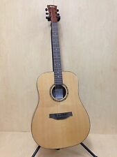 Martin Klema K100DS Solid Spruce Top Acoustic Guitar Natural Matt Gig Bag