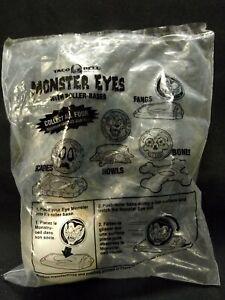 Monster Eyes With Roller Base Bones Skeleton EyeBall Taco Bell Fast Food Kid Toy