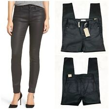Madewell High-rise Skinny Jeans Coated Edition New NWT Black Woman Size 30
