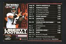 Liberty Flames--2008 Football Magnet Schedule